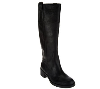 Lucky Brand Pebbled Leather Tall Boots - Heloisse - S8462