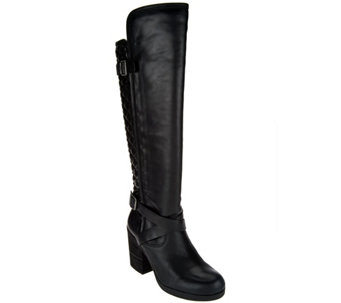Lucky Brand Knee High Heeled Boots - Oryan - S8464