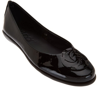 The FLEXX Casual Comfort Italian Leather Flats- Bon Bon - S8567