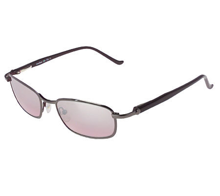Jonathan Cate Square Shaped Metal Frame Sunglasses — QVC.com