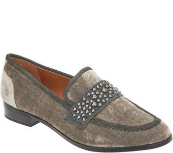 f545bcd000f3 Sarto by Franco Sarto Studded Detail Velvet Loafer - Johanna - S9179