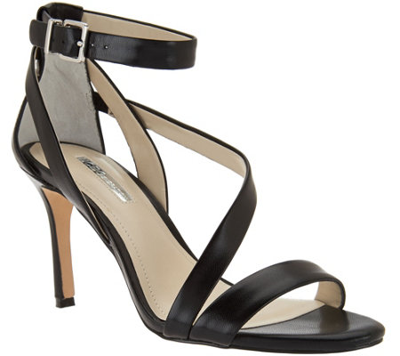 BCBGeneration Strappy Open-Toed Pumps