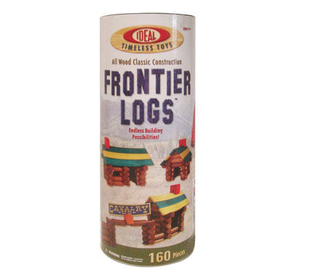 Ideal Frontier Logs Classic Wood 160-Piece C onstruction Set