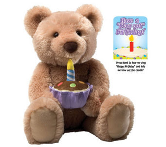 Gund Birthday Bear Feature Plush - T126100