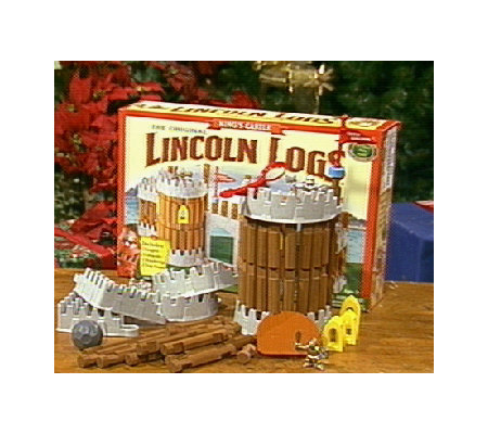 The Original &#34&#x3b;Lincoln Logs&#34&#x3b; King's Castle Building Set
