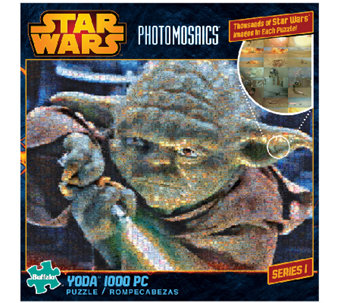 Star Wars Photomosaics Yoda 1000-Piece Puzzle - T127501
