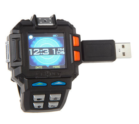 Spy Net Multi-Media Night Vision Video Watch w/256MB Memory