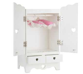 Charmant Melissa U0026 Doug Wooden Doll Armoire   T128003