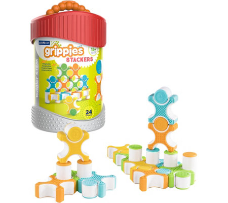 Guidecraft Grippies Stackers 24-Piece Set
