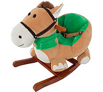Happy Trails Rocking Horse Plush Animal withSounds - T128303