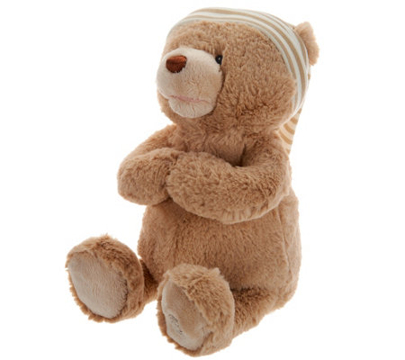 Gund Goodnight Animated Tan Prayer Bear with Music