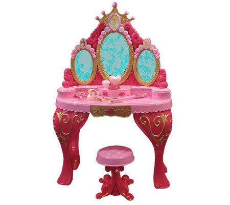 Disney Princess Enchanted Tales Vanity Qvc Com