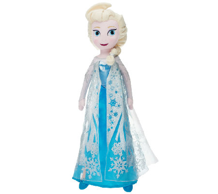 "Disney's Frozen 24"" Singing Plush Elsa Doll"