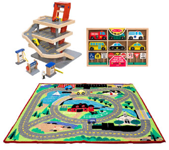 Melissa & Doug Let's Play Vehicles Bundle - T127305