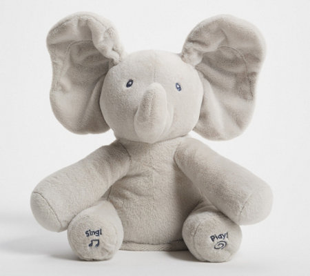 Flappy Animated Plush Elephant With Music By Gund Qvc Com