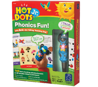 Phonics Fun Electronic Quiz Card Set by Educational Insights - T121307