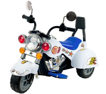 Lil' Rider Road Warrior Motorcycle 6V Ride-On