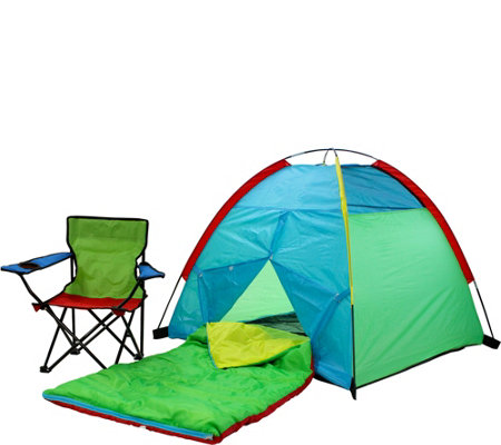 Pacific Play Tents Primary Color Tent Set