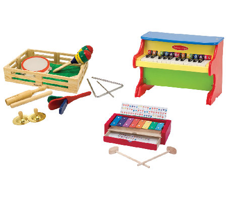 Melissa & Doug Let's Play Musician Bundle