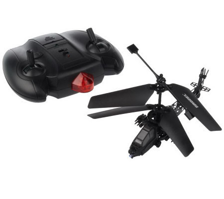 Mini Apache Indoor Radio Control Helicopter w/ Lights