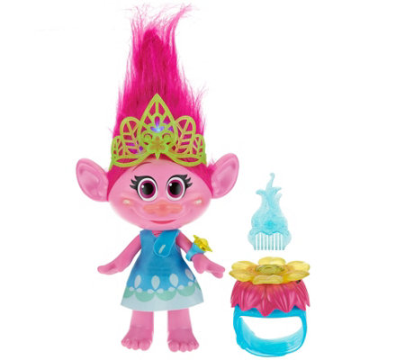 Trolls Hug Time Poppy Doll w/ Interactive Bracelet
