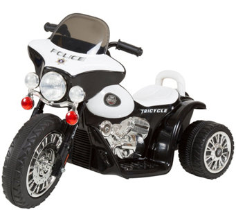 Lil' Rider Mini Three-Wheel Police Chopper - T127615
