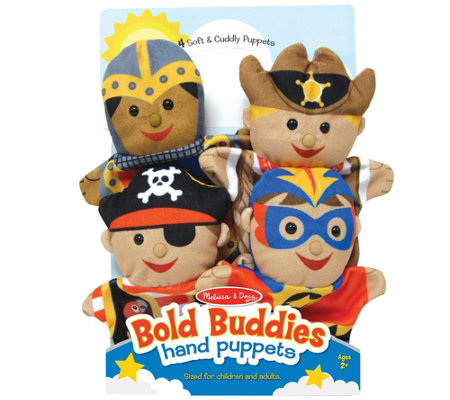 Melissa & Doug Fantasy Plush Characters Hand Puppets