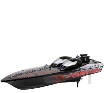 New Bright Fountain R/C Race Boat - T101517