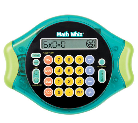 Math Whiz Electronic MathTool by Educational In sights