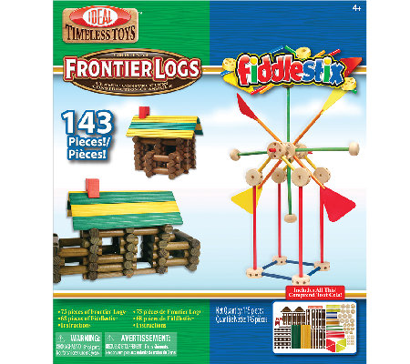 Ideal Frontier Logs and FiddleStix Combo Box