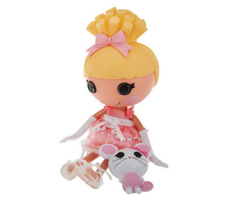 LaLaLoopsy Sew Magical Sew Cute 13-inch Play Doll with Pet