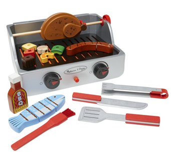 Melissa & Doug Rotisserie & Grill Barbecue Set - T127721