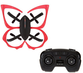 Hover-Way FlapperBot Wireless Quadcopter w/ Wings - T34122