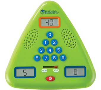 Minute Math Electronic Flash Card by Learning Resources - T123723