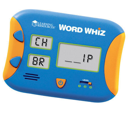 Word Whiz Electronic Flash Card by Learning Resources