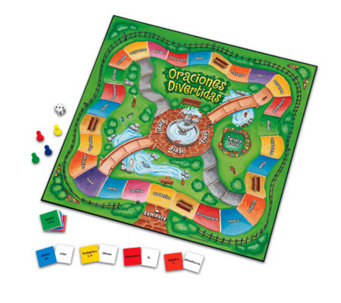 Oraciones Divertidas Game by Learning Resources - T116624