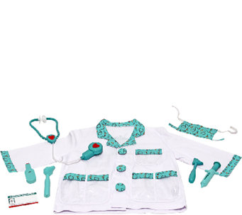 Melissa & Doug Doctor Role Play Costume Set - T127525