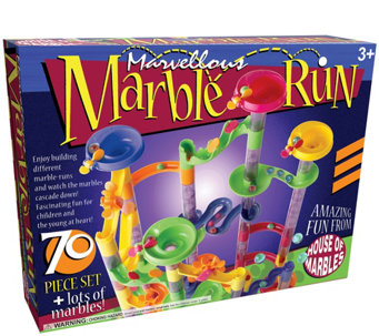 Marvellous Marble Run - 70 Piece Set - T127625