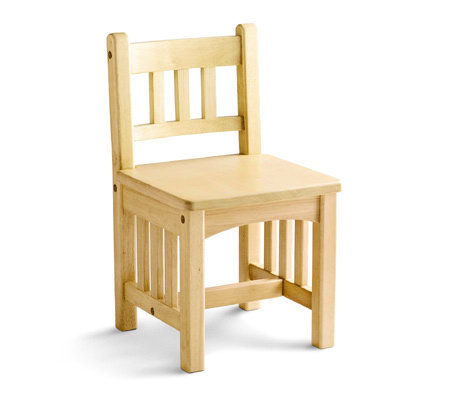 Little Tikes Set of Two Mission Design Wood Chairs — QVC.com