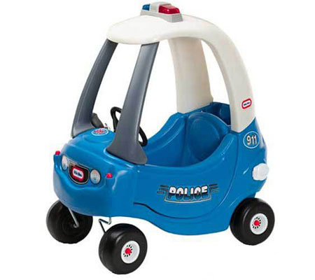 Little tikes patrol police car for Little tikes 2 in 1 buildin to learn motor workshop