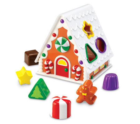 Smart Snacks Gingerbread House Sorter by Learning Resources