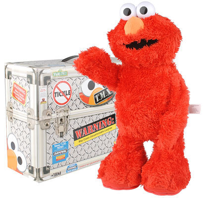 T M X Tickle Me Elmo 10thanniversary Interactive Plush