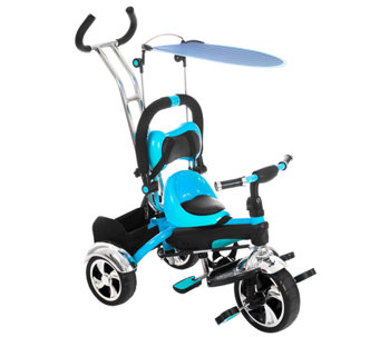 Lil' Rider 2-in-1 Convertible Stroller Tricycle - T127331