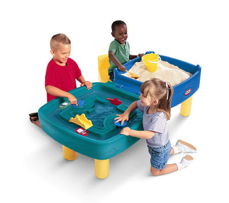 Little Tikes Easy Store Sand and Water Table - Little Tikes Easy Store Sand And Water Table — QVC.com