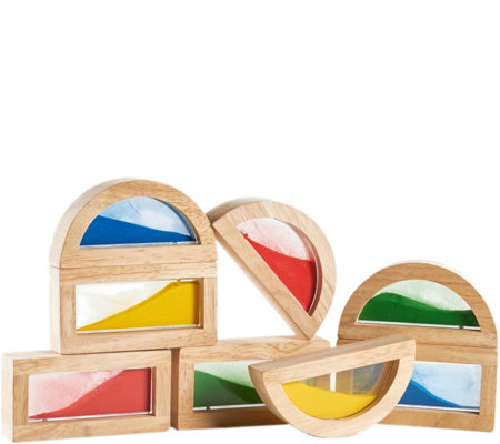 Guidecraft Sand Rainbow Blocks