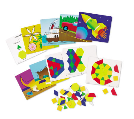 Magnetic Pattern Block Activity Set by LearningResources