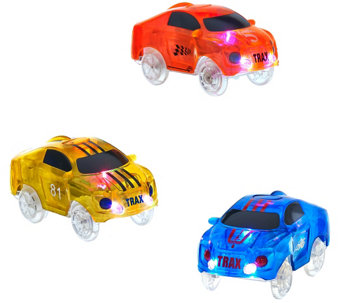 Twister Trax Choice of S/3 Light-up 360 Vehicles - T33635
