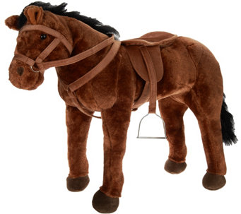 "Hearth Song 28"" Sit-On Horse with Sounds - T34335"