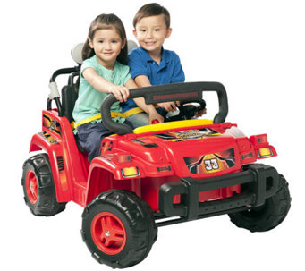 Red 12 V Rollin' Rambler Ride-On - T126040