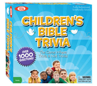 Ideal Children's Bible Trivia Game - T125041